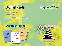 360 flash cards, basic vocabulary