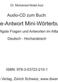 """Audio CD zum Buch """"Frage-Antwort Mini-Wörterbuch, Hocharabisch"""""""